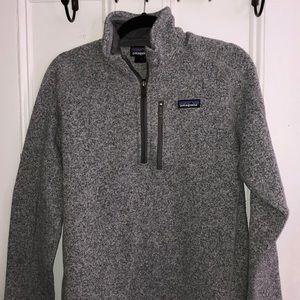 Men's Patagonia fleece pullover quarter zip
